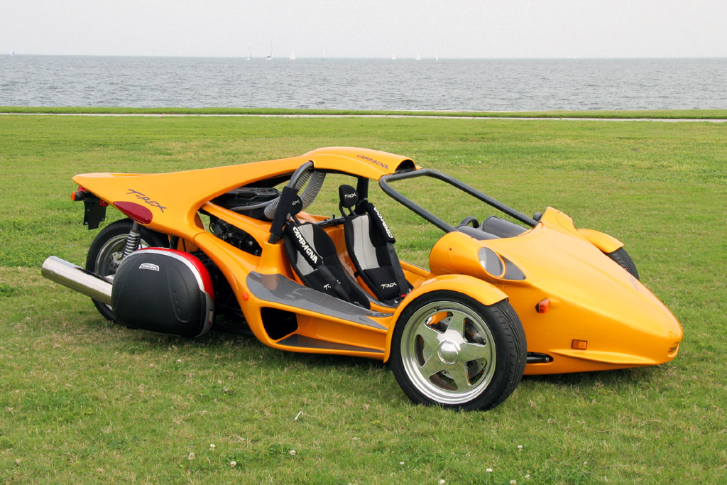 REX 3 wheel, Motorcycle powered car